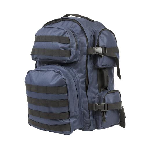 Tactical Backpack - Blue/Black Trim